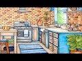 Vintage Retro Country Farm Kitchen Interior Design | Small Kitchen Interior Design Ideas