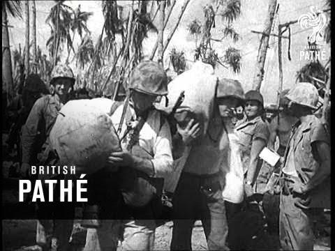 U.S. Marines Win Glory In Gilbert Islands (1943)