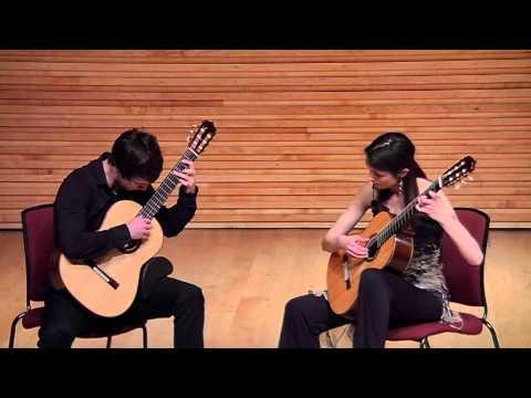 Tom Ellis & Laura Snowden - Brahms Theme & Variations Op. 18