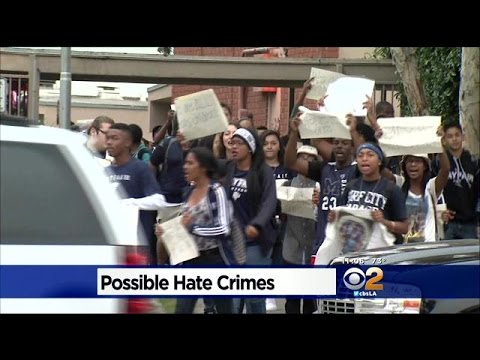 Students Rally Against Hate Crimes At 2 Southland High Schools