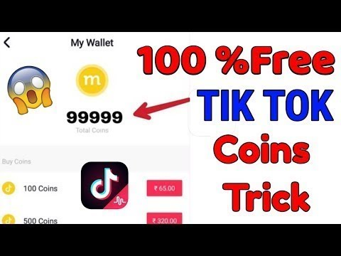 Get Free Tik Tok Coins With In 2 Minutes 100 Working Tricks 2020 Trending Tricks By Famousworld Youtube