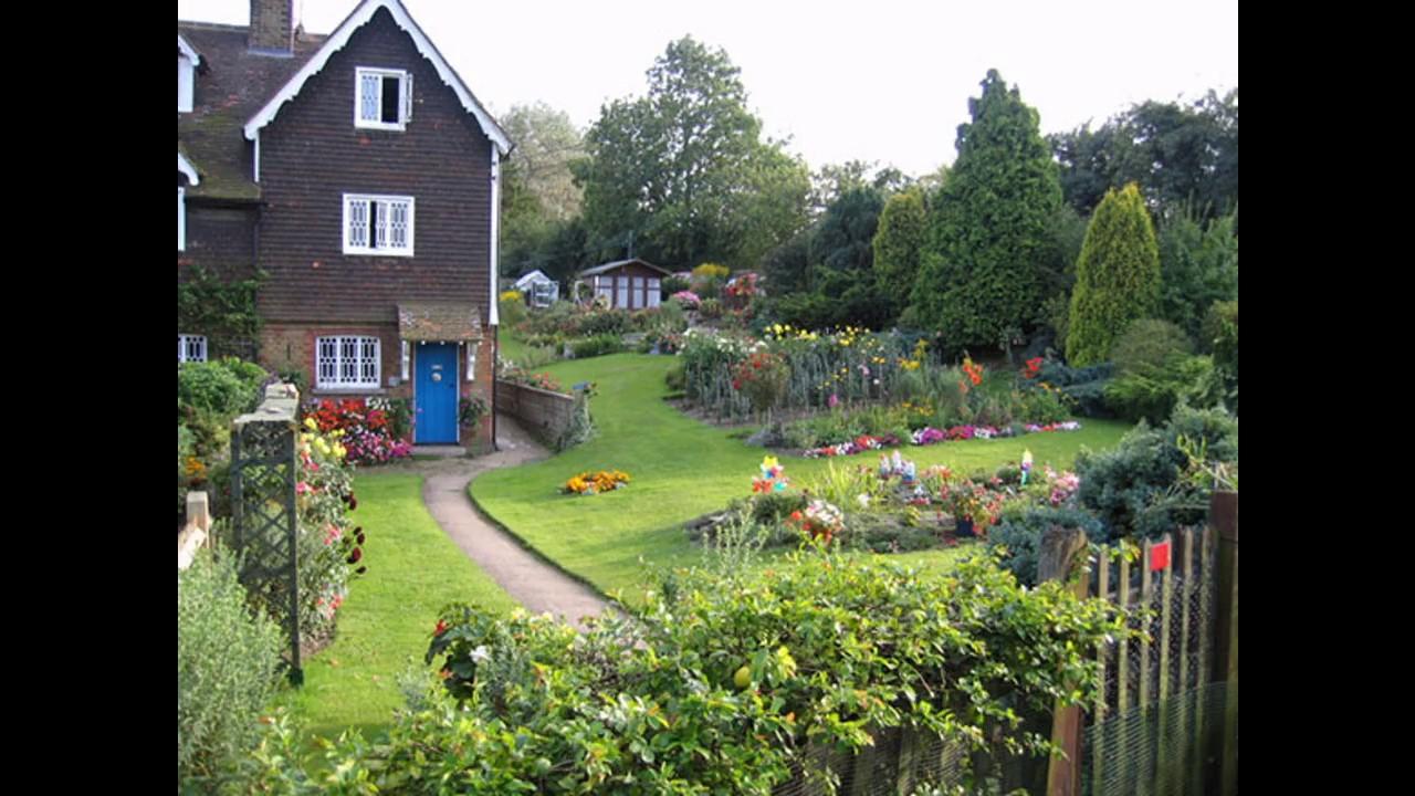 ideas de dise o de jardines rurales youtube