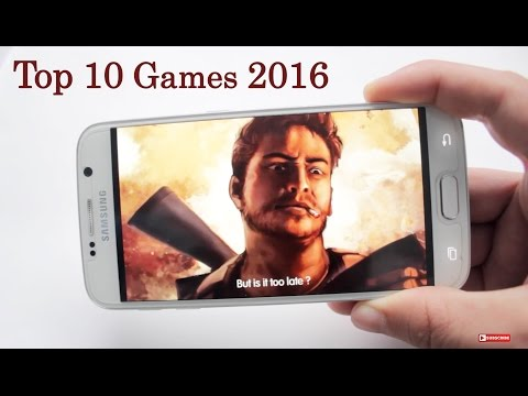 Top 10 - Best Android Games 2016