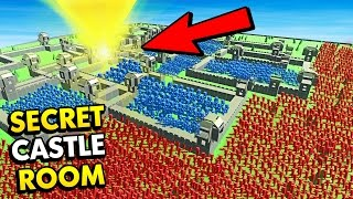 SECRET ROOM IN MASSIVE CASTLE! (Ancient Warfare 2 Funny Gameplay)