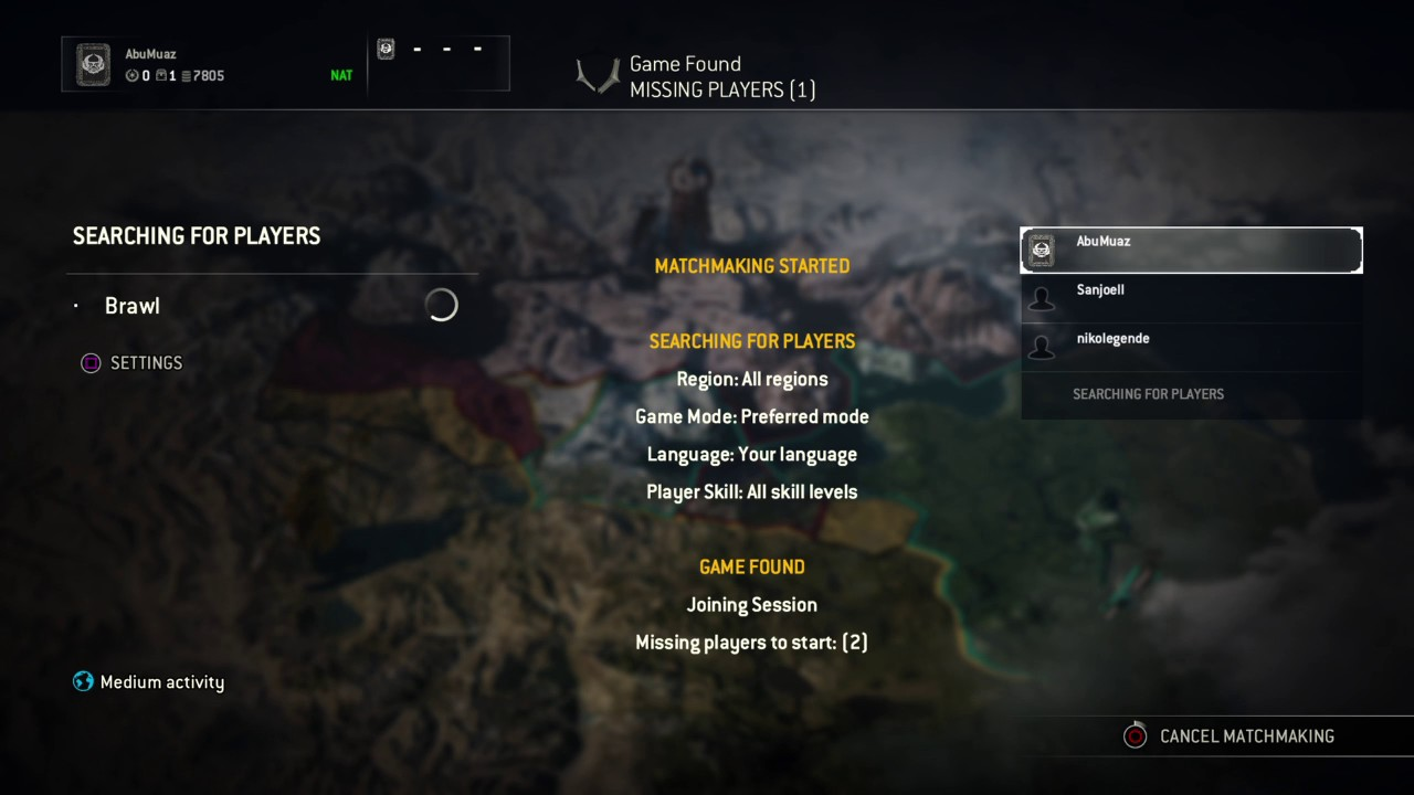 matchmaking has failed for honor immo dating