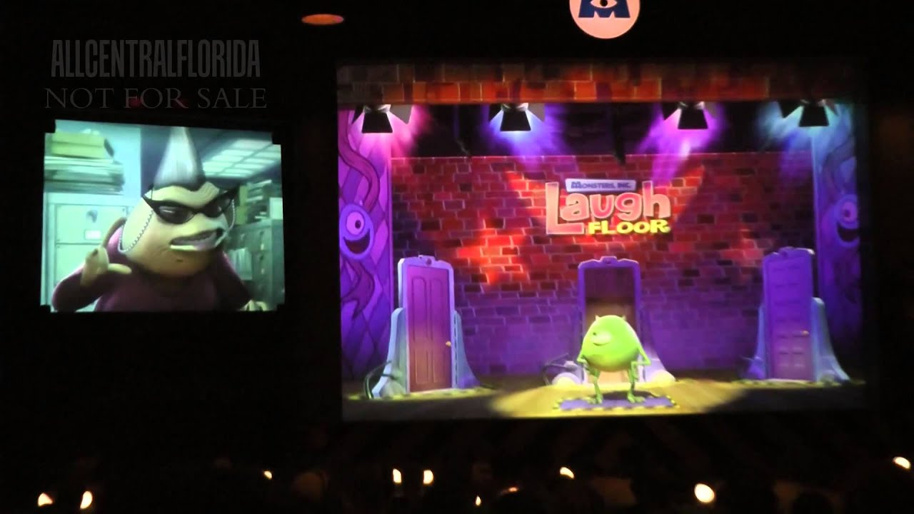 Monsters, Inc. Laugh Floor - YouTube