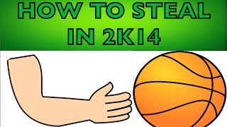How to Steal in NBA 2K14 (Works for 2K15 too)