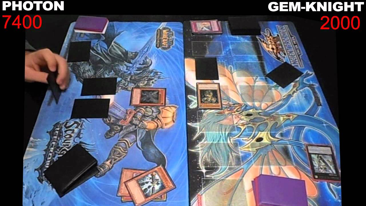 Yugioh Duel: Photon vs Gem-Knight – Round 1