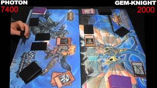 Yugioh Duel: Photon vs Gem-Knight - Round 1