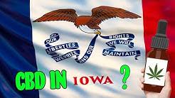 Where To Buy CBD Oil In Iowa - Is CBD Legal In IA?