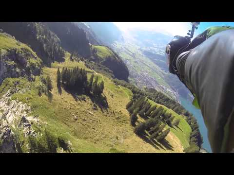 Trench Line at Sputnik 2015 wingsuit proximity flying by Yegor