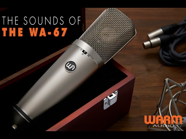 The Sounds Of The WA-67 | Hear It On Drums, Guitars and Vocals!