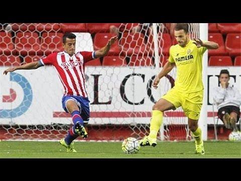 Download sporting gijon vs villarreal 1-3 extended highlight HD