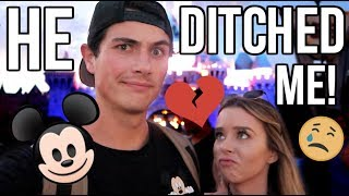 HE DITCHED ME FOR ANOTHER GIRL!!! (at Disneyland)