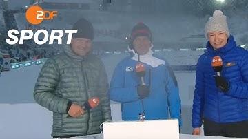 Live vom Biathlon-Weltcup in Oberhof | ZDF SPORTextra