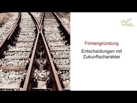 GmbH und AG Gründung richtig vorbereiten - gratis & online