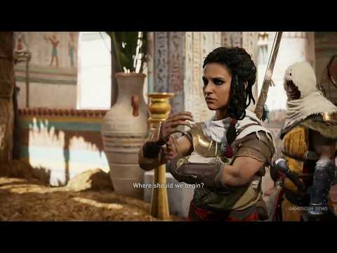 Assassin's Creed Origins: Gamescom mission