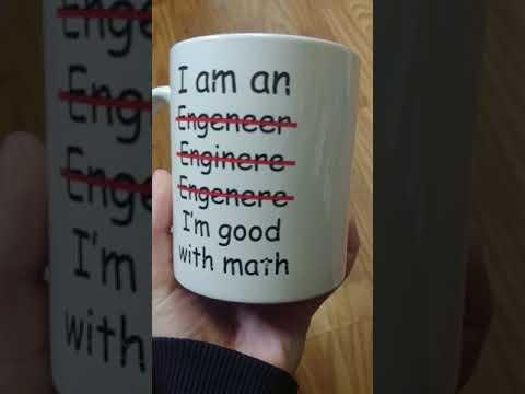 Engineer gag mug gift