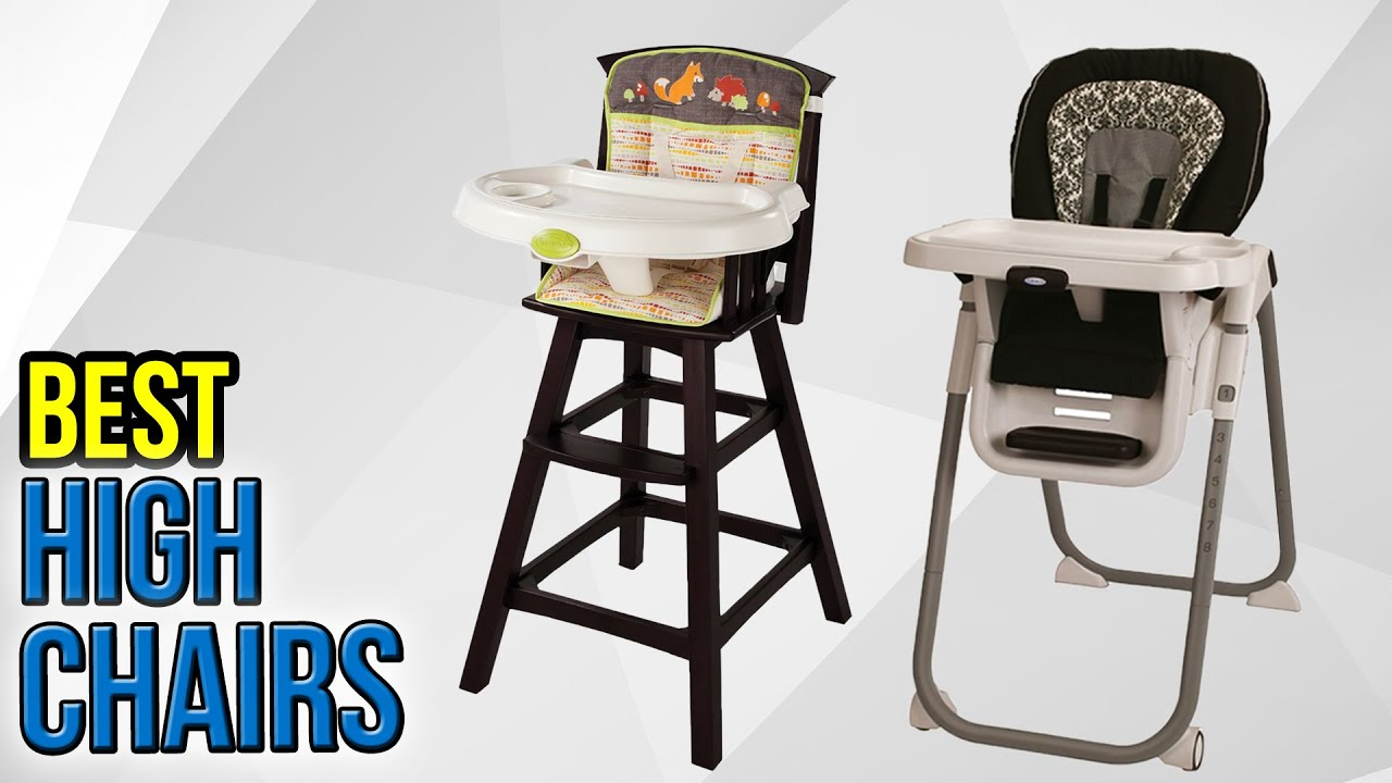 10 Best High Chairs 2017
