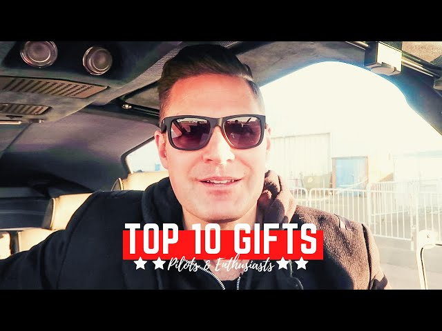 BEST GIFTS FOR PILOTS & AVIATION ENTHUSIASTS | Win £25 to spend at Transair