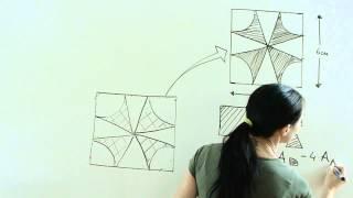 Cáculo de áreas sombreadas-áreas curvas