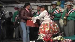 Florcita del Valle de Pampas Tayacaja, bautizo artistico