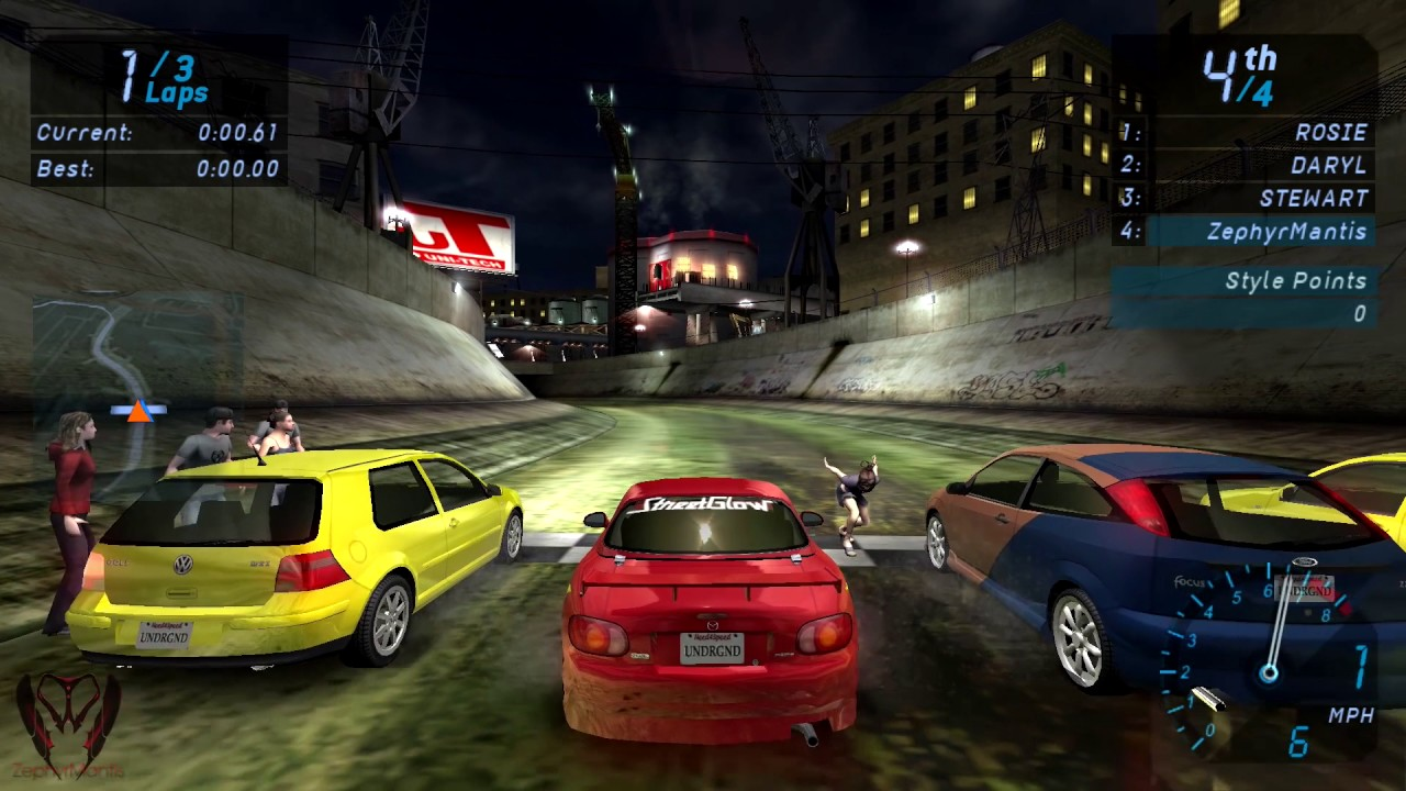 Need for Speed Underground PC Gameplay 1080p HD Max