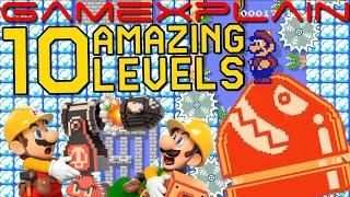 Anything Goes! 10 Amazing Super Mario Maker Levels