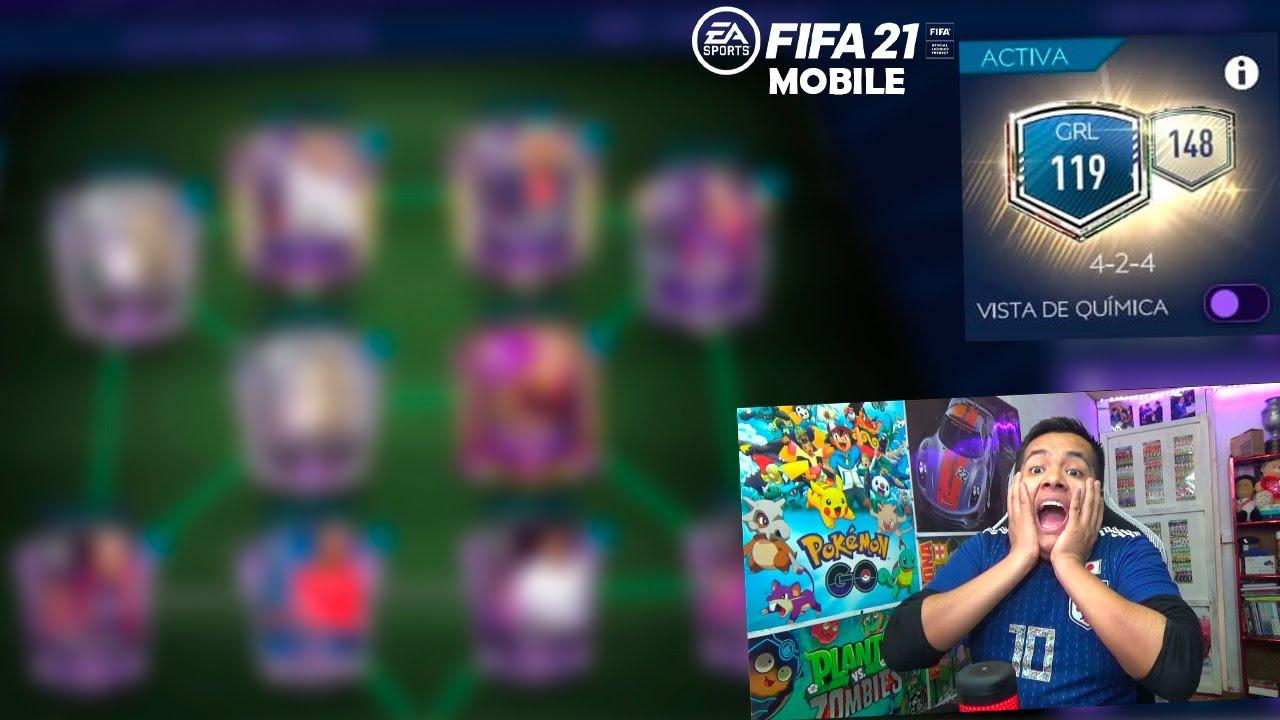 MI PRIMER JUGADOR de 100 de MEDIA en FIFA MOBILE *Nuevo EQUIPO*