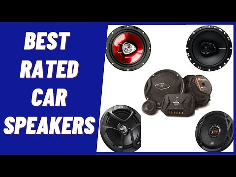 Best Car Speakers of 2020 [Tried And Test Car Audio Speakers]