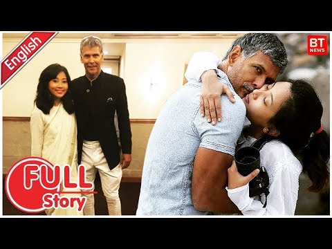 Milind Soman And Ankita Konwar Romantic Love Affair | How Milind Soman Met Ankita - Full Story