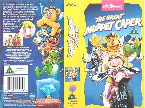The Great Muppet Caper (1994, UK VHS) - YouTube The Muppet Movie Vhs 1994