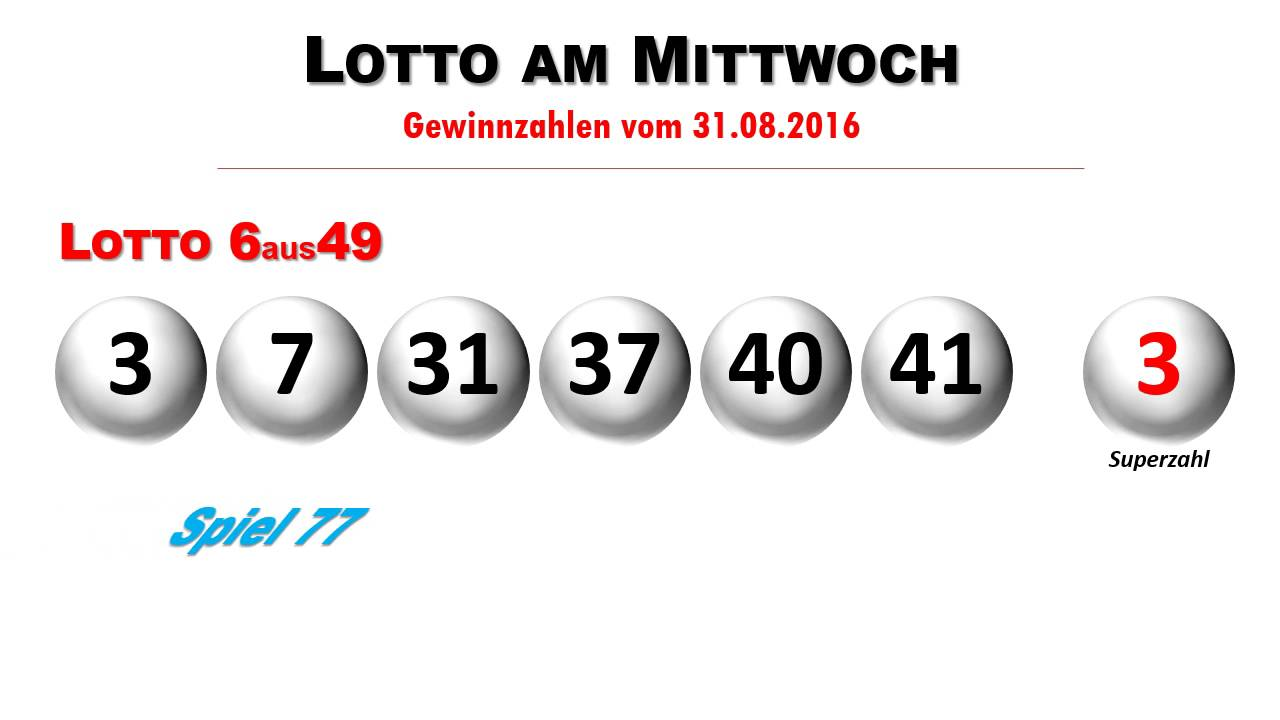 Ziehung Euro Lotto
