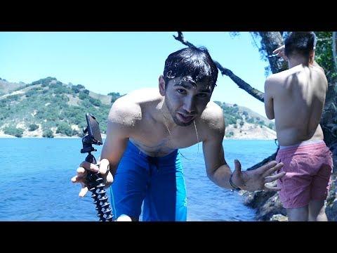 LAGO PRIVADO | ¡me avente y cai mal! (BayBaeBoy Vlogs)