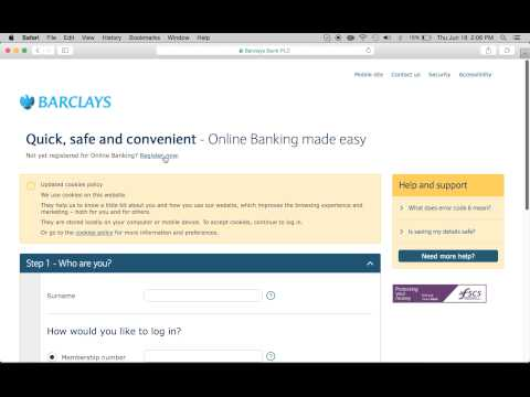 Barclays Bank Online Banking Login | Enroll