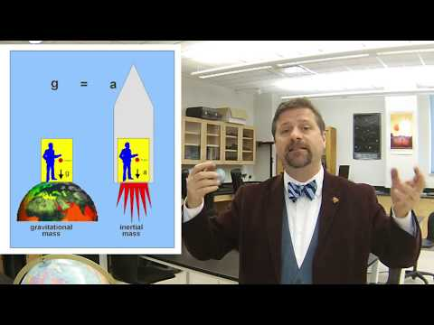 Astronomy Lesson #24: General Relativity Curvature and Tests