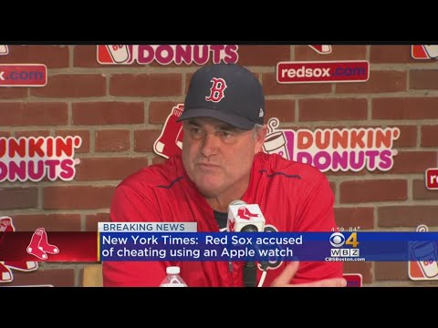 NYT: Red Sox Accused Of Cheating Using an Apple Watch