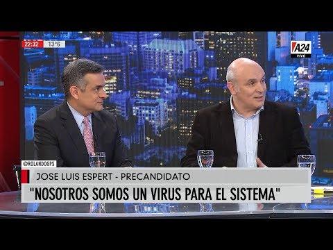 José Luis Espert y Luis Rosales en