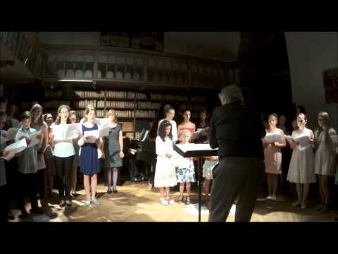 Choir:Sotho Song,Bernstein,Whitacre&Spiritual@EncoreMusicProjects International Summer School