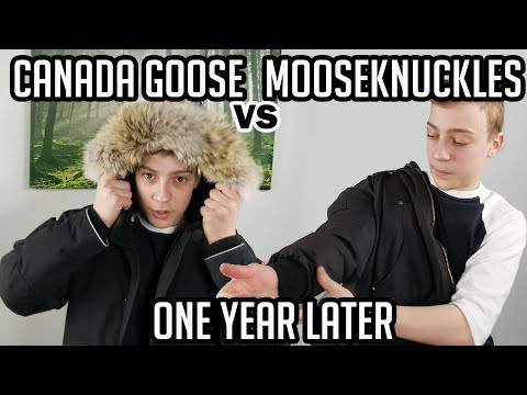 Canada Goose Rundle Bomber V.s. Moose Knuckles - A Year Later