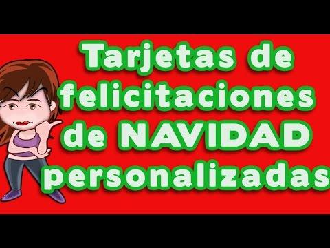 Tarjetas Personalizadas Navidad Decoracin Del Hogar Prosalocom