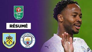 Résumé : Sterling en feu, Manchester City élimine Burnley !