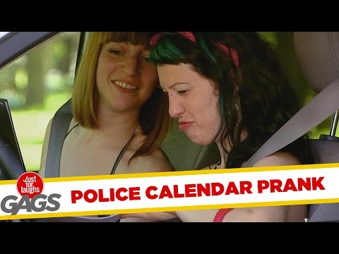 Cops' Sexy Calendar For Charity - Throwback Thursday