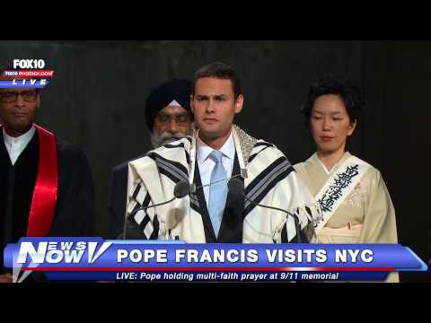 FNN: Pope Francis Holds Interfaith Prayer at 9/11 Memorial