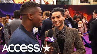 'Aladdin' Star Mena Massoud Raves About Will Smith's Genie: 'He Nailed It!' | Access