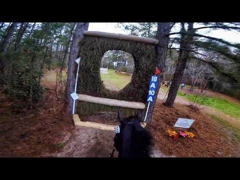 Michael J. - Want to see what it's like to ride a horse through a Steeplechase race?