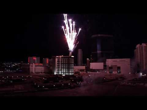 """Riviera Hotel Implosion - June 14, 2016, 2:30am Las Vegas Raw Footage"""