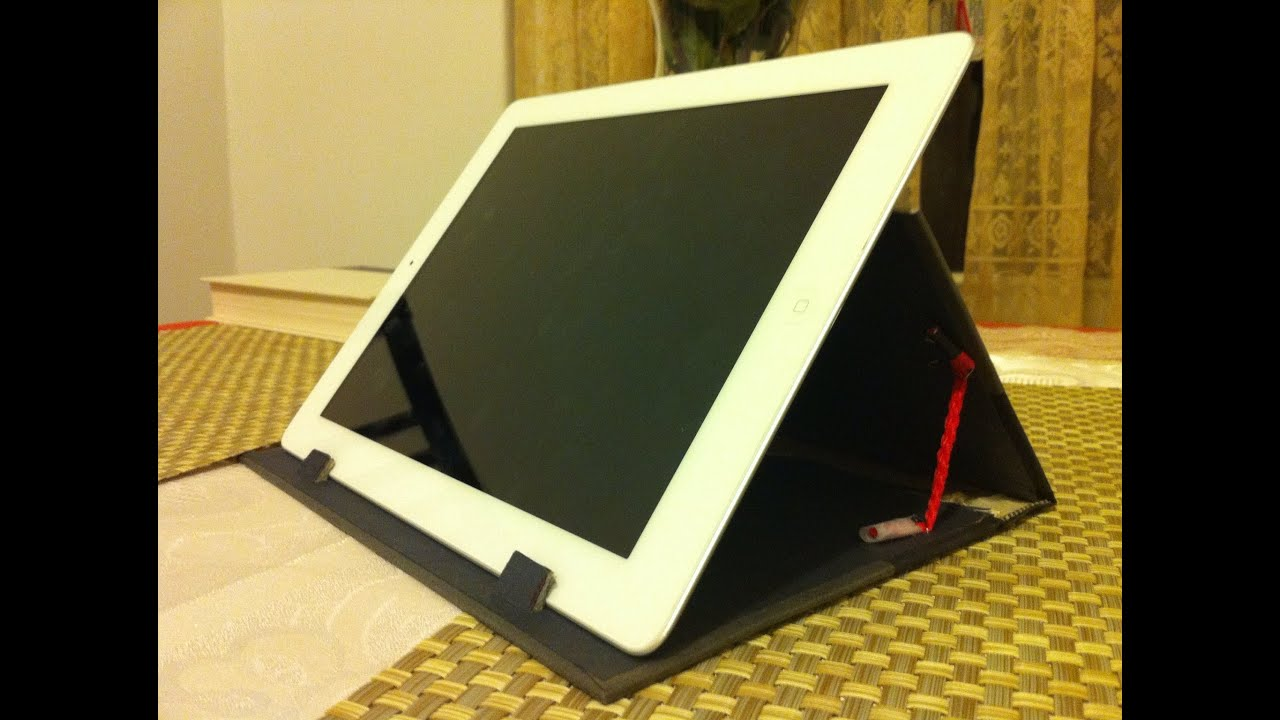 Free ipad stand homemade of an old book part 1 youtube malvernweather Images