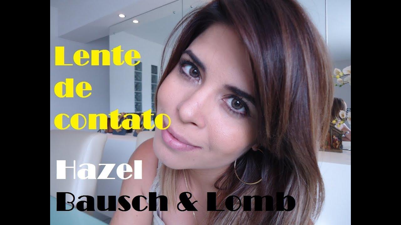 LENTES DE CONTATOS SUPER NATURAIS cor Hazel sem grau E-Lens Bausch   Lomb ec24a00f74