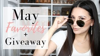 MAY FAVORITES + GIVEAWAY | Collab with LisaJMakeup | LuxMommy